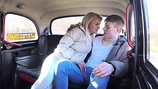 Female Fake Taxi Innocent young tourist