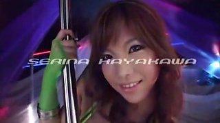 Amazing Japanese chick Serina Hayakawa in Incredible POV, Amateur JAV clip