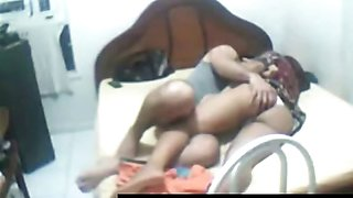 Very naughty brunette Arab whore gets her foreplay caught
