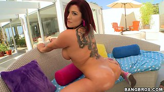 The ass of this sexy Dayana Vendetta is insanely sexy and big