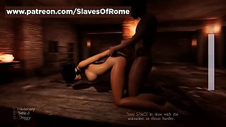 Slaves of rome game sex scene doggy style