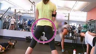 Incredible little ass is very flexible
