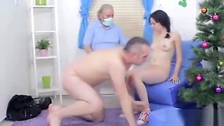 Stud Assists With Hymen Check-up And Nailing Of Virgin Teeni