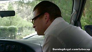 Best pornstars Vyxen Steel, Veronica Rose, Michael Vegas in Hottest Outdoor, Emo adult scene