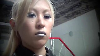 lashes by a cruel and sadistic punishment Asian mistress