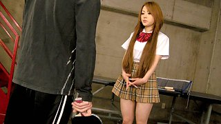 Ria Sakurai in Ria Sakurai is a bad student - AviDolz