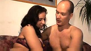 Mature Mexican Loves Licking Cum Off Her Boobs Video