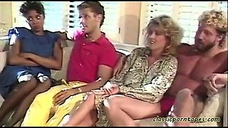 Hairy Pussy in Classic Action - CLASICPORNTAPES