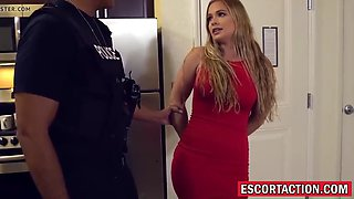 uniformed police officer rough fucking blonde sloan harper