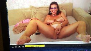 Bbw webcam girl squirts