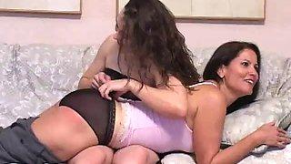 Birthday spanking
