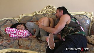 Gina Valentina punished for being a bad girl