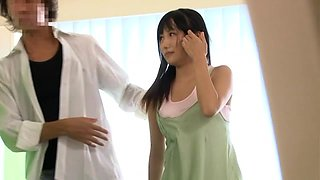 Petite Brunette Japanese Slut Fucked By Her Doc