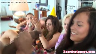 cockhungry CFNM babes gone wild in sexparty