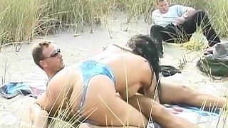 Hottest Big Tits, Beach sex movie
