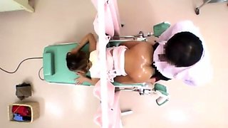 Dazzling Asian babe has a horny doctor drilling her snatch