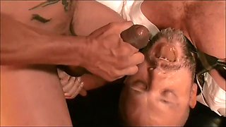 nice cum shot combo st and gy comp big cock and cum