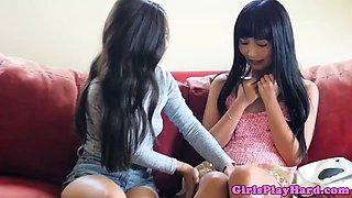 spex lesbian student tribbing asian pussy