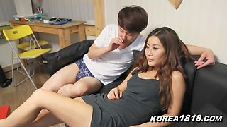 Korean Porn NEW Lucky Virgin Korean Babel!
