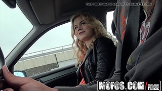 mofos - stranded teens - nishe - russian teen gives great he