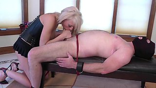 Slave for his mistress