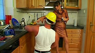 tied up slut gets cunt licked feature