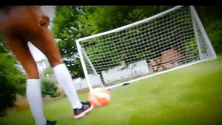 Sophia play football