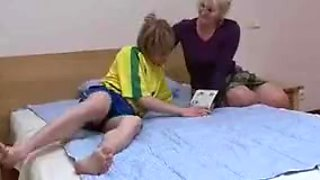 Name of Mom Son Russian Blonde MILF Mature Cougar ?