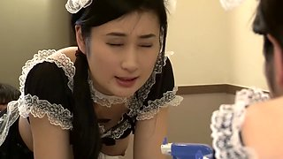 Hottest Japanese girl in Incredible Maid, HD JAV video