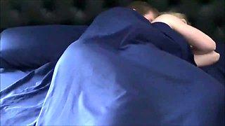Hot Milf Sleeps with Step Son - Watch part 2 on MilfyCams