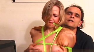 Girl Gets Her Pussy Eaten After Being Thonged And Abused