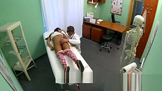 Patient girl fucked by her Doctor