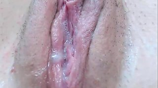 Very Wet Young Pussy - Close Up