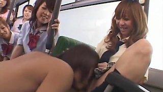 Hottest amateur Fingering, Bus adult video