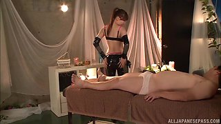 Aine Maria is a hot mistress who knows how to treat a man