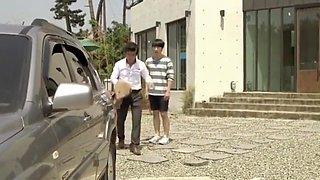 AMWF Korean Teen fucks White Step Mom