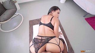 Bosomy Katrina Moreno riding Nacho Vidal's throbbing cock