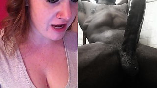 Redhead Rates Big Black Dick