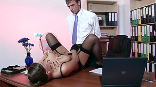 Secretary will do anything to meet the needs of his boss