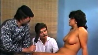 Marvelous classic busty woman is naked andeager to fuck on cam