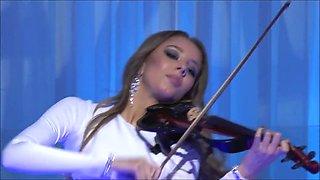 Aline will dance with Amedeus Electric Quartet