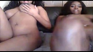 2 sisters busting it open