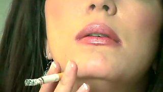 Amazing homemade Fetish, Smoking sex clip