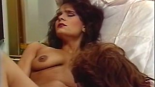 Two lovely and skillful redhead milfs on the bed eat each other