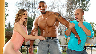 Ella Nova & Robert Axel & Eli Hunter in Wanna Fuck My Wife Gotta Fuck Me Too #09 - DevilsFilm