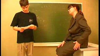 Teacher hot