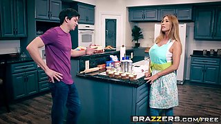 Brazzers - Mommy Got Boobs -  Bake Sale Bang scene starring