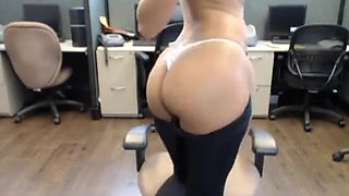 Indian Girl Masturbating at Office 4 her Boss