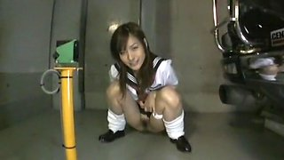 Amazing Japanese girl Nao Ayukawa in Crazy Pissing, Voyeur JAV movie
