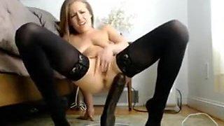 Amazing Amateur clip with Webcam, Solo scenes